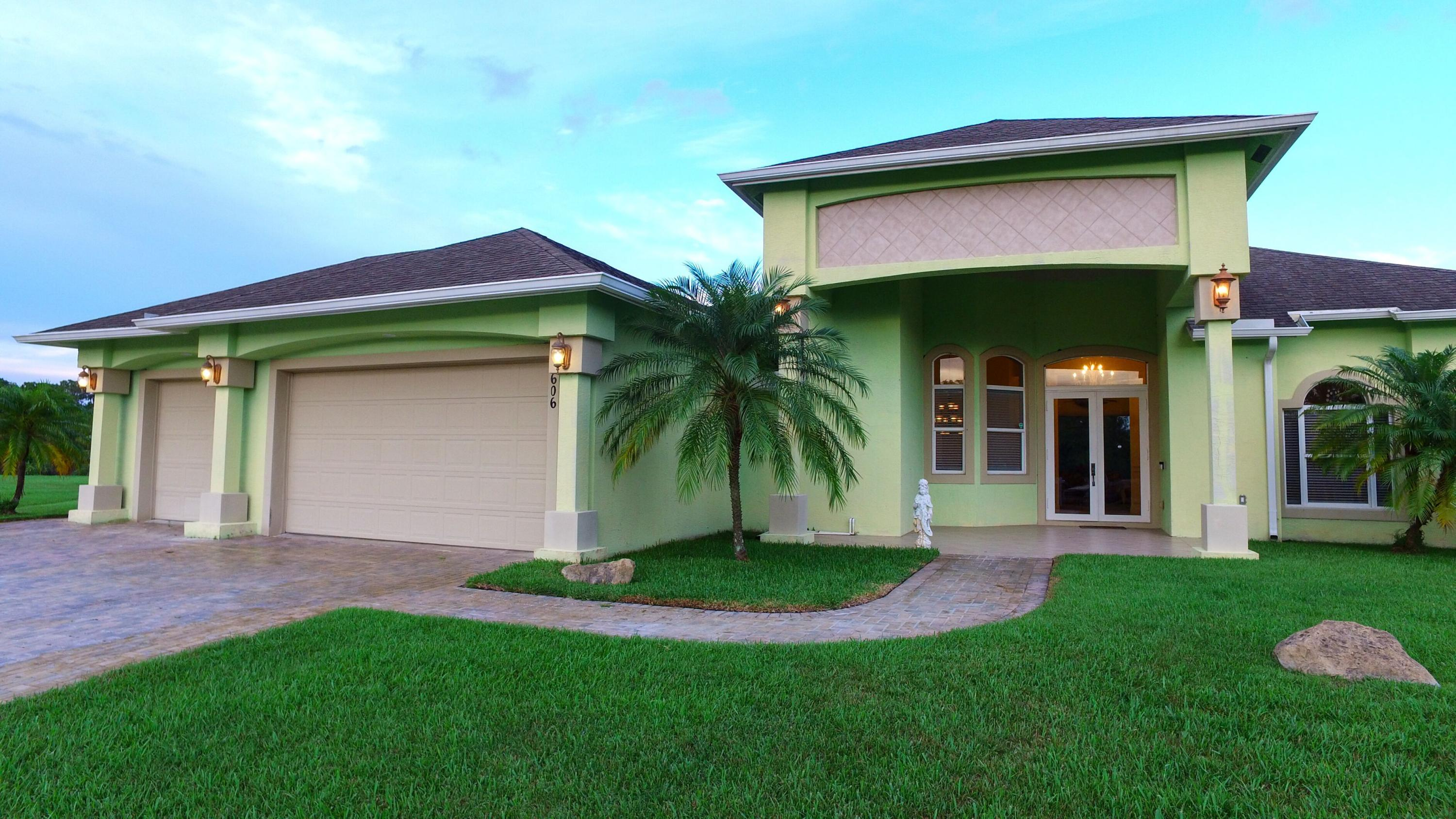 Single Family Home for sale in 3606 SW Perry Court, Port Saint Lucie, Florida ,34953