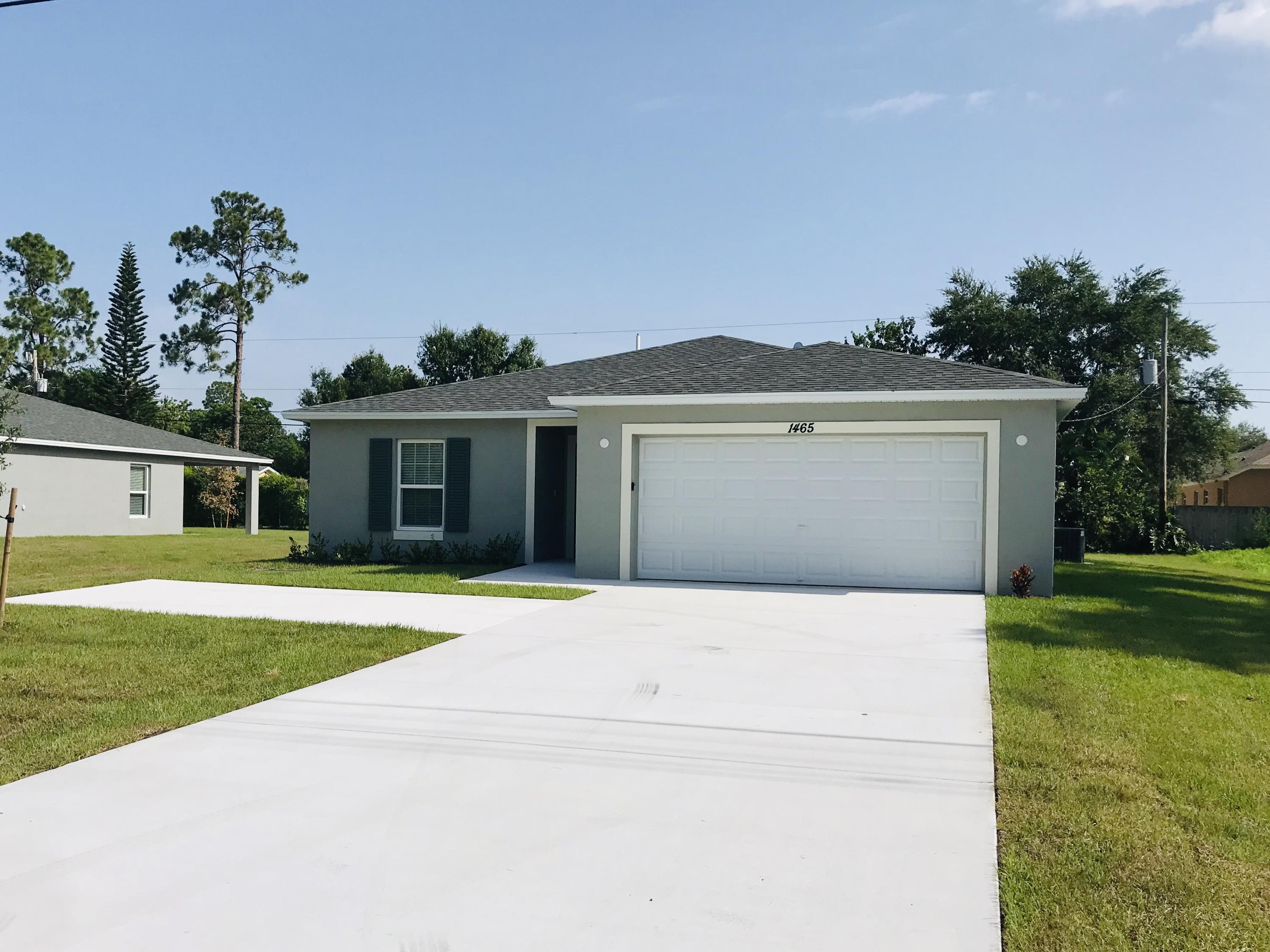 Single Family Home for sale in 962 SW Jasper Avenue, Port Saint Lucie, Florida ,34953