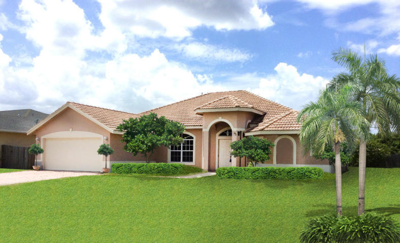 Single Family Home for sale in 921 SW Jasper Avenue, Port Saint Lucie, Florida ,34953