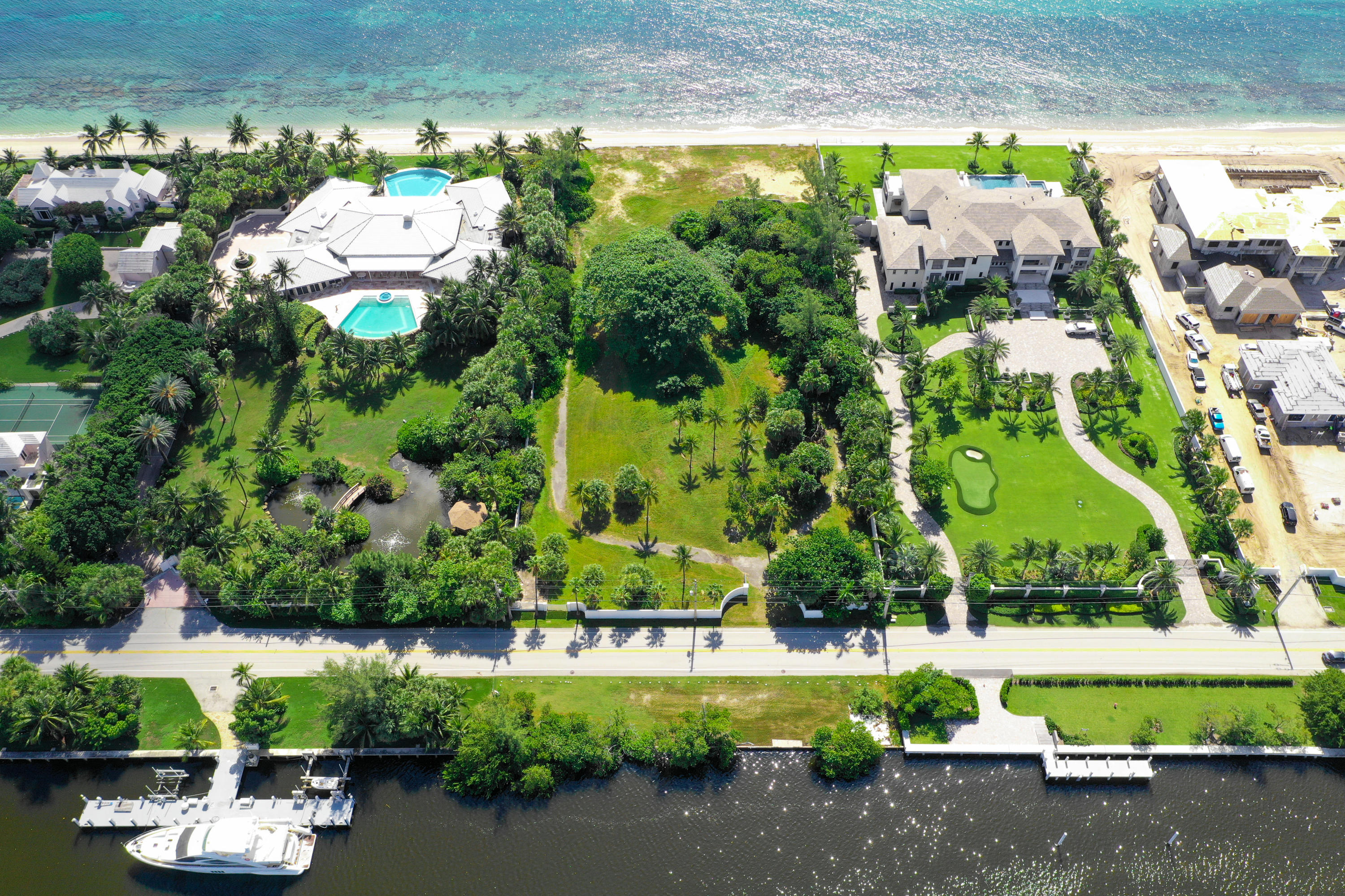 Land for sale in 980 S Ocean Boulevard, Manalapan, Florida ,33462