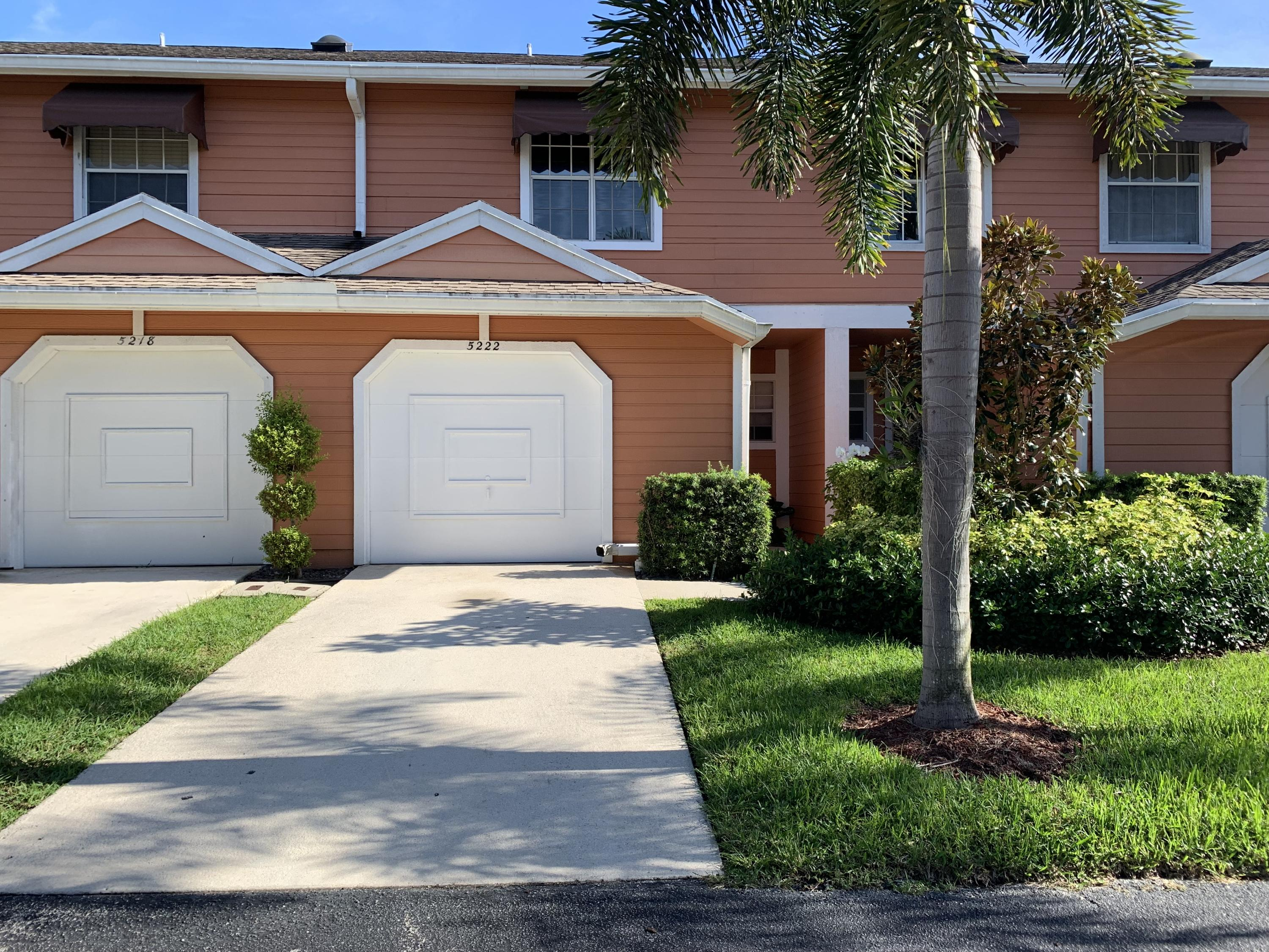 Townhouse/Row House for sale in 5222 Sapphire, Boca Raton, Florida ,33486