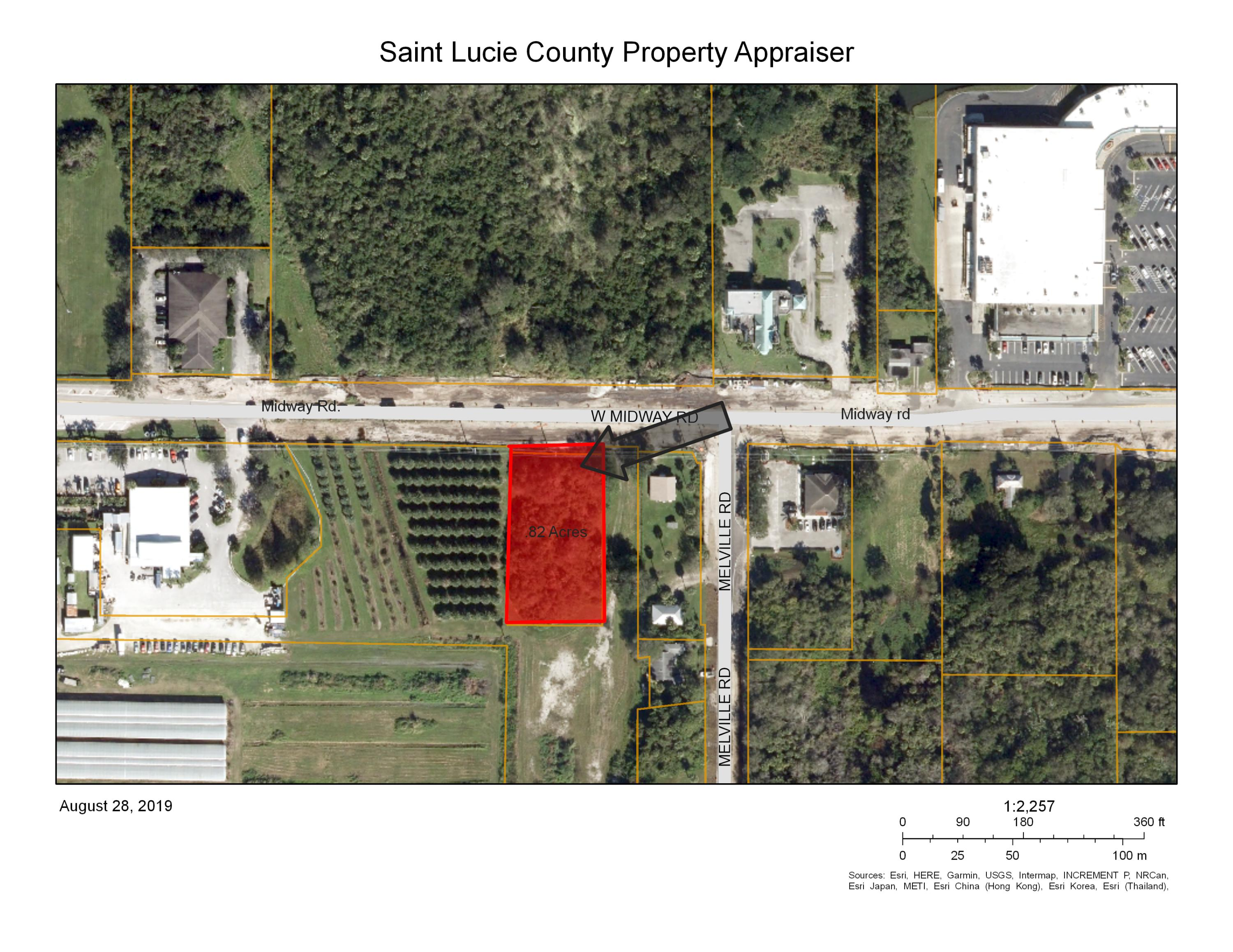 Land for sale in 755 W Midway Rd Road, Fort Pierce, Florida ,34950