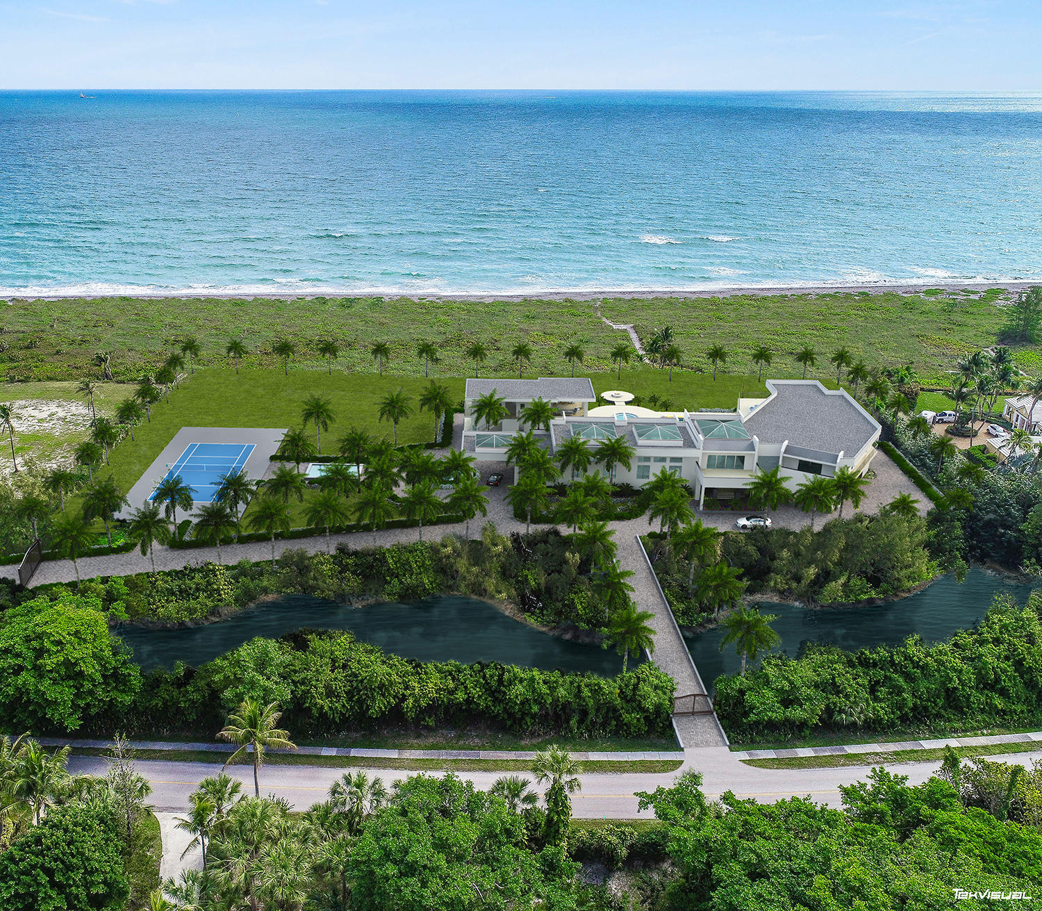 Single Family Home for sale in 483 S Beach Road, Hobe Sound, Florida ,33455