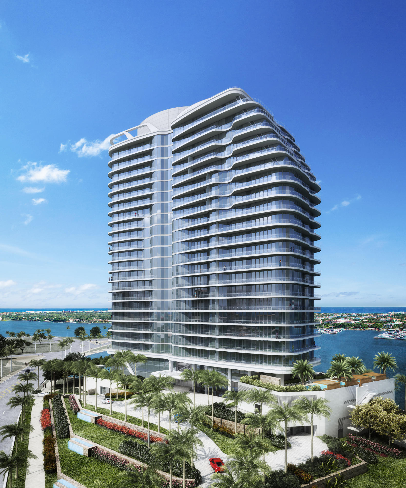 Condominium for sale in 1100 S Flagler Drive S 602, West Palm Beach, Florida ,33401