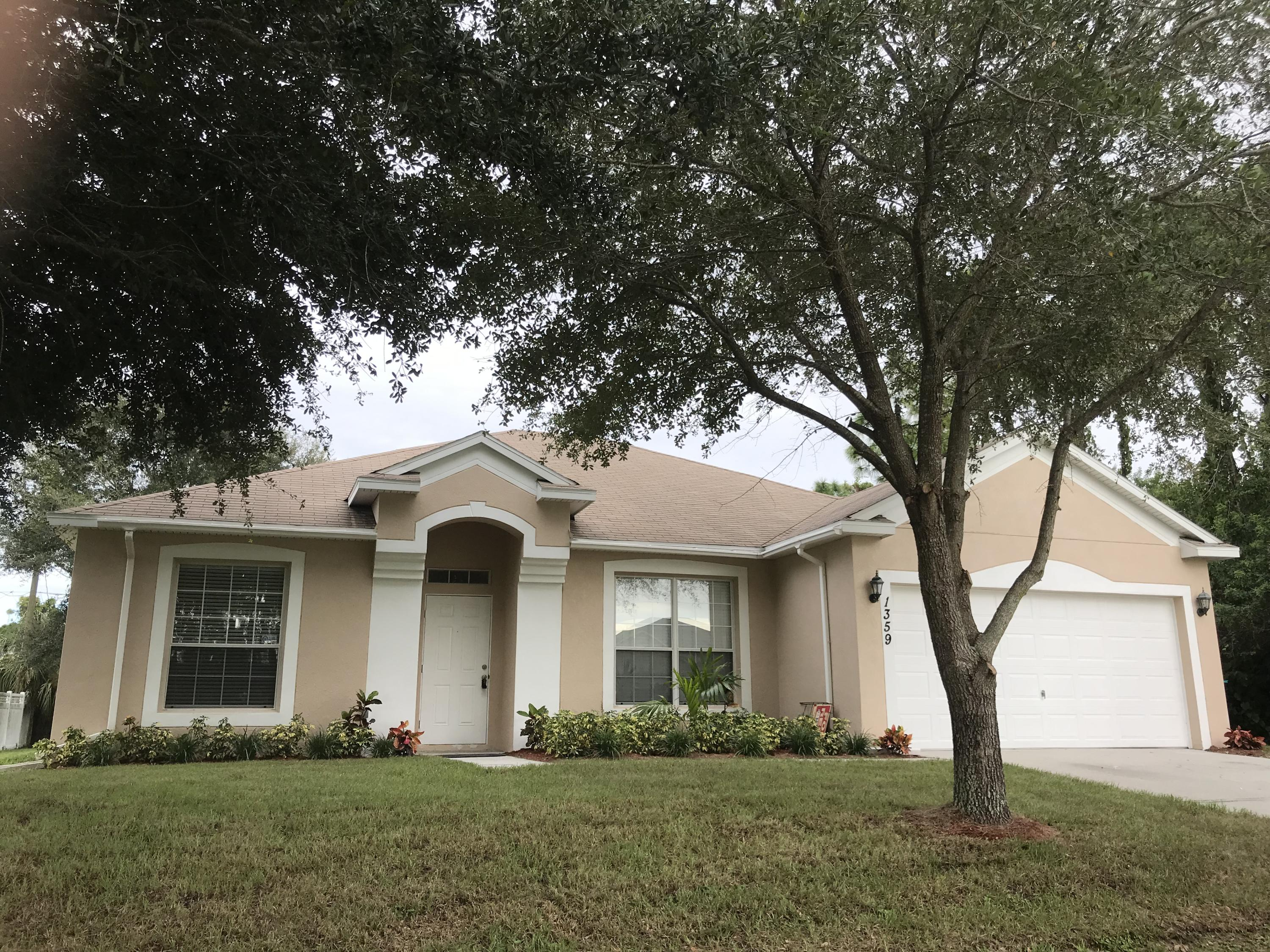 Single Family Home for sale in 1359 Vater Avenue NW, Palm Bay, Florida ,32907