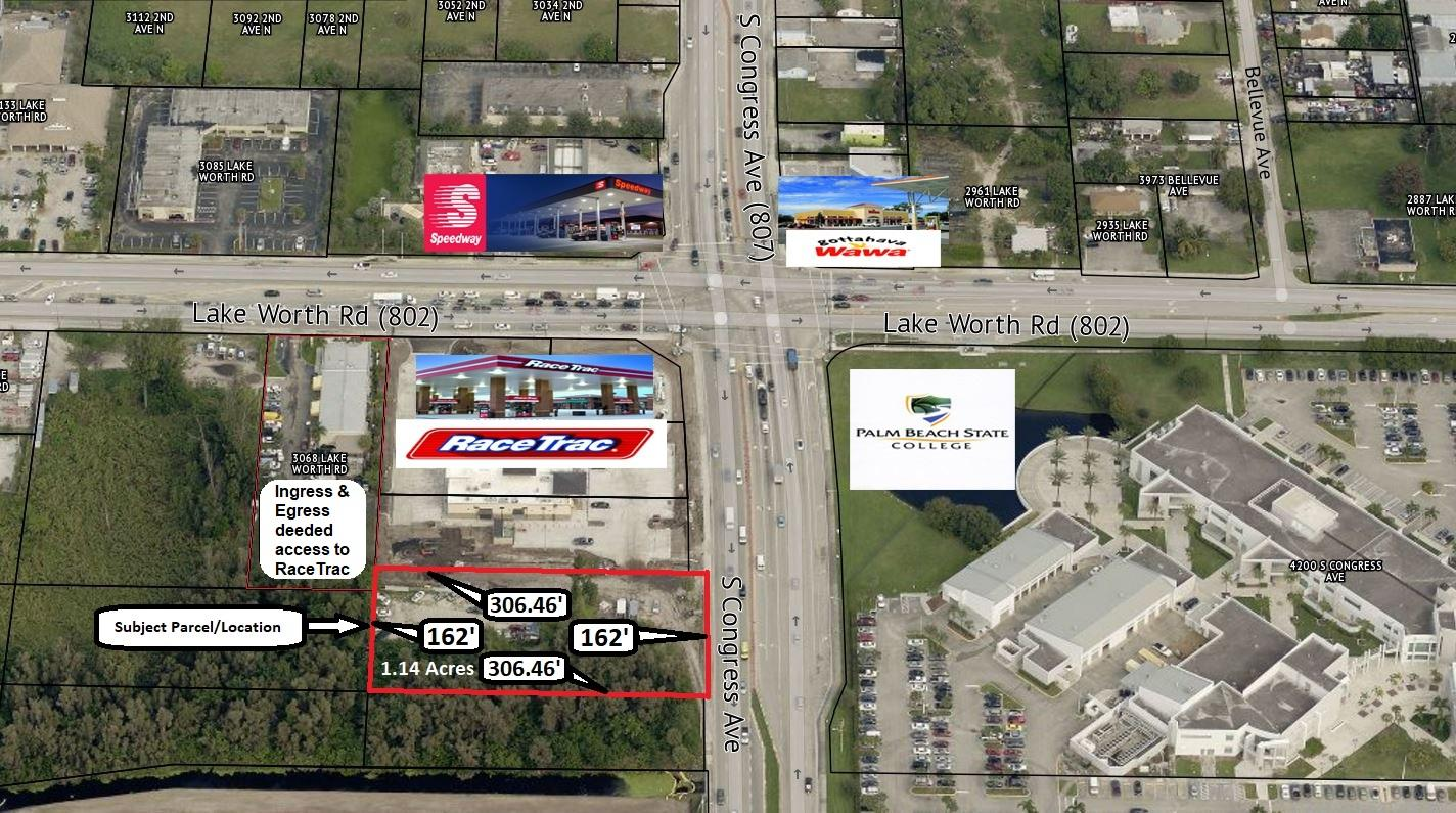 Land for sale in 4063 S Congress Avenue, Palm Springs, Florida ,33461