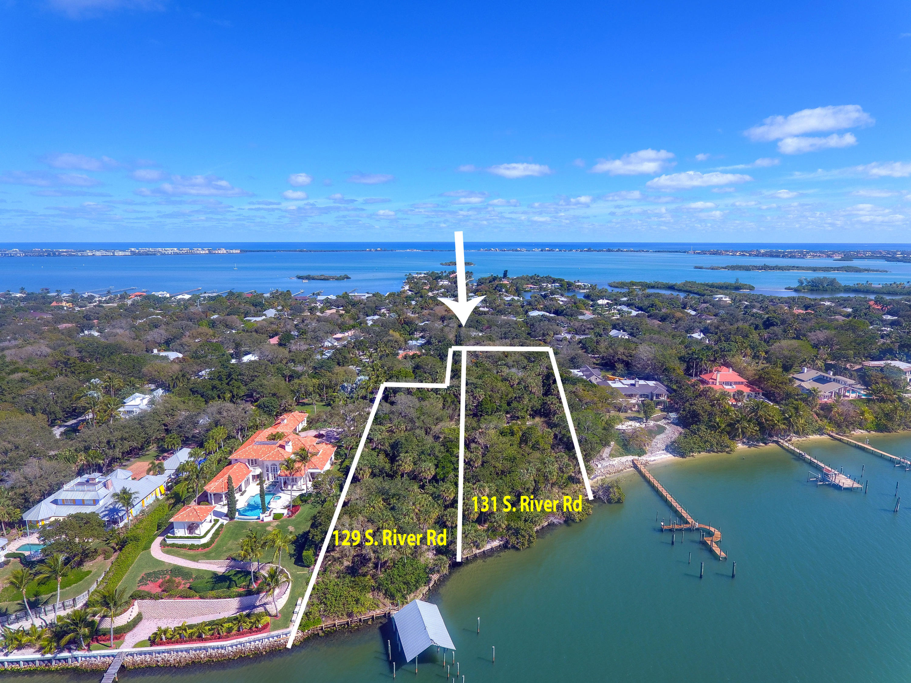 Land for sale in 131 S River Road, Sewalls Point, Florida ,34996