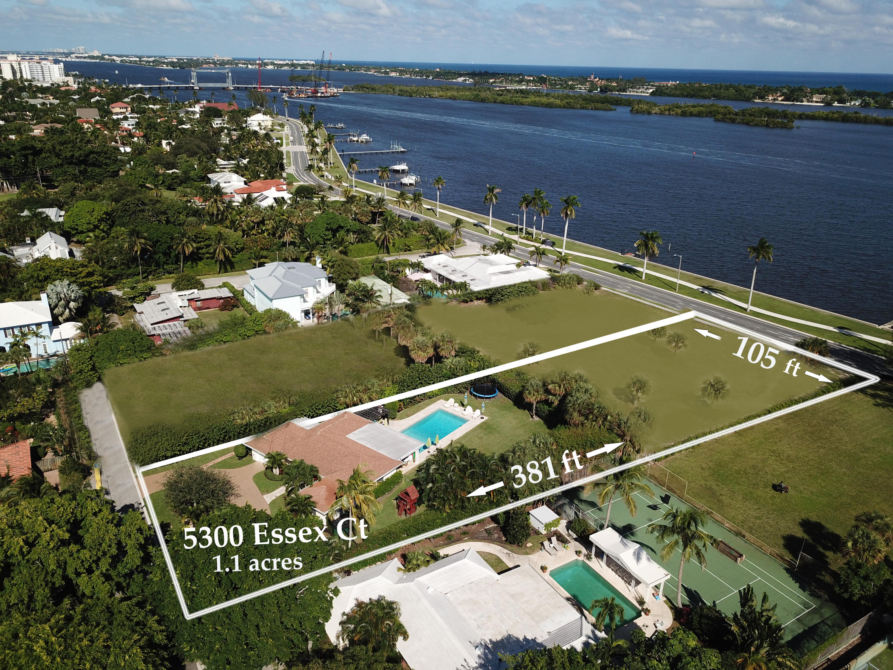 Land for sale in 5300 Essex Court, West Palm Beach, Florida ,33405