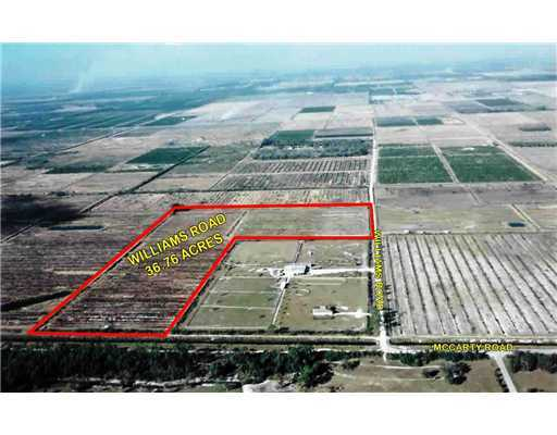 Land for sale in 12351 Williams Road, Port Saint Lucie, Florida ,34987