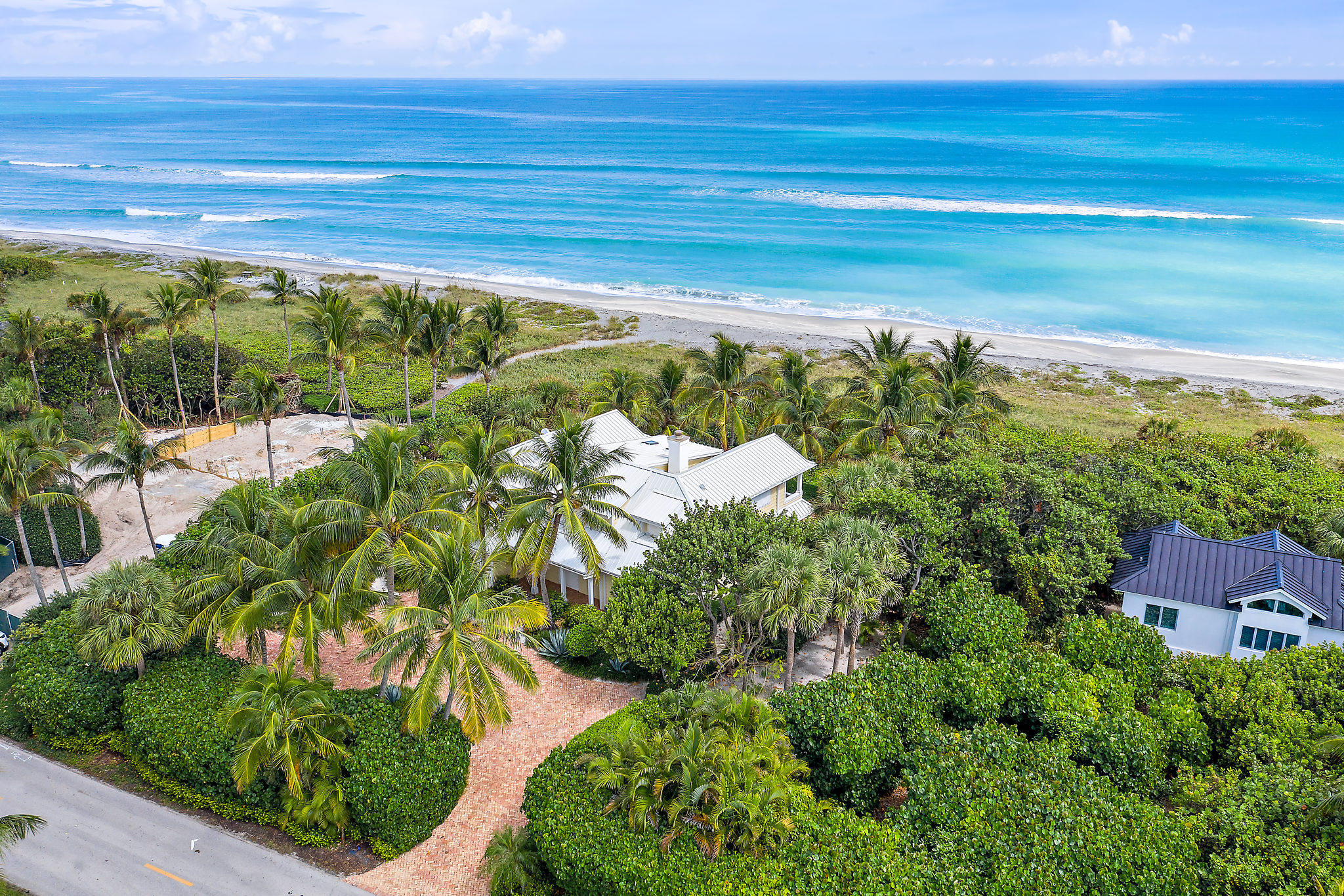 Single Family Home for sale in 461 S Beach Road, Hobe Sound, Florida ,33455