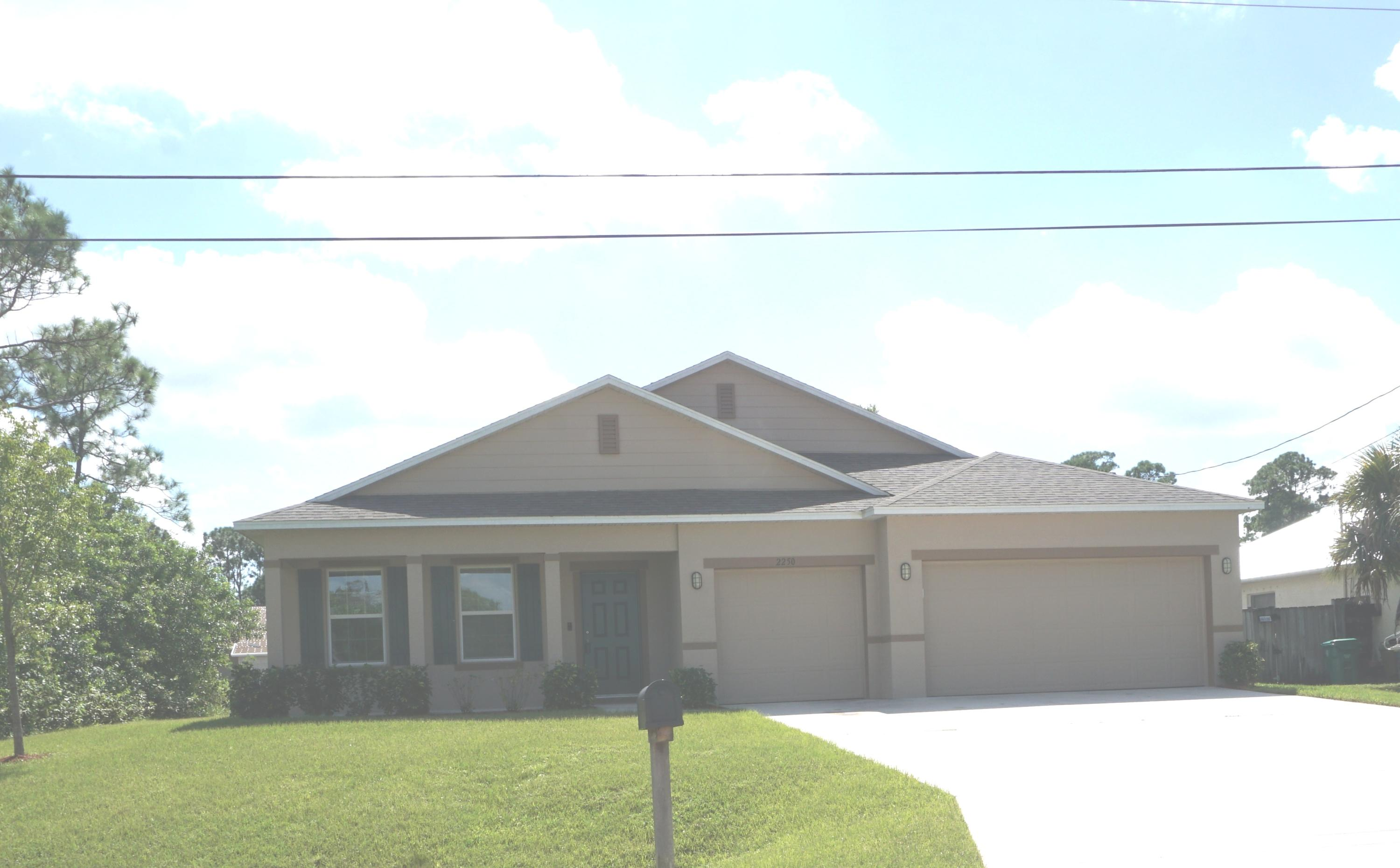 Single Family Home for sale in 2250 SW Jay Avenue, Port Saint Lucie, Florida ,34953