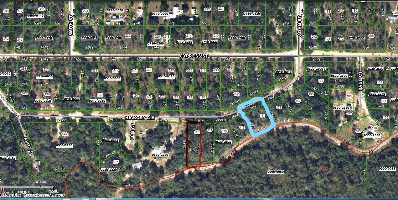 Land for sale in 111 Hickory Circle 15, Interlachen, Florida ,32148