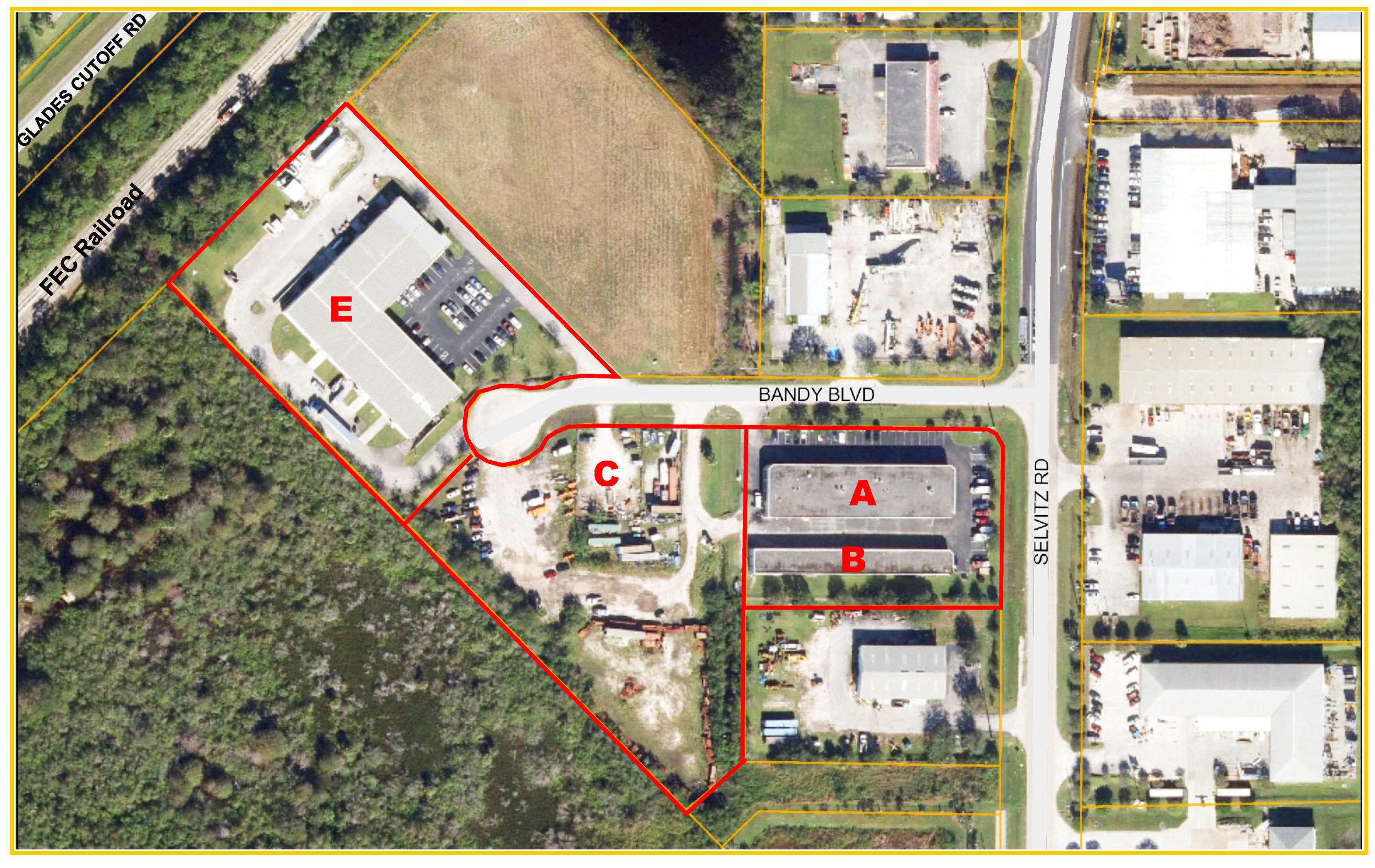 industrial for sale in 4101-4252 Bandy Boulevard, Fort Pierce, Florida ,34981