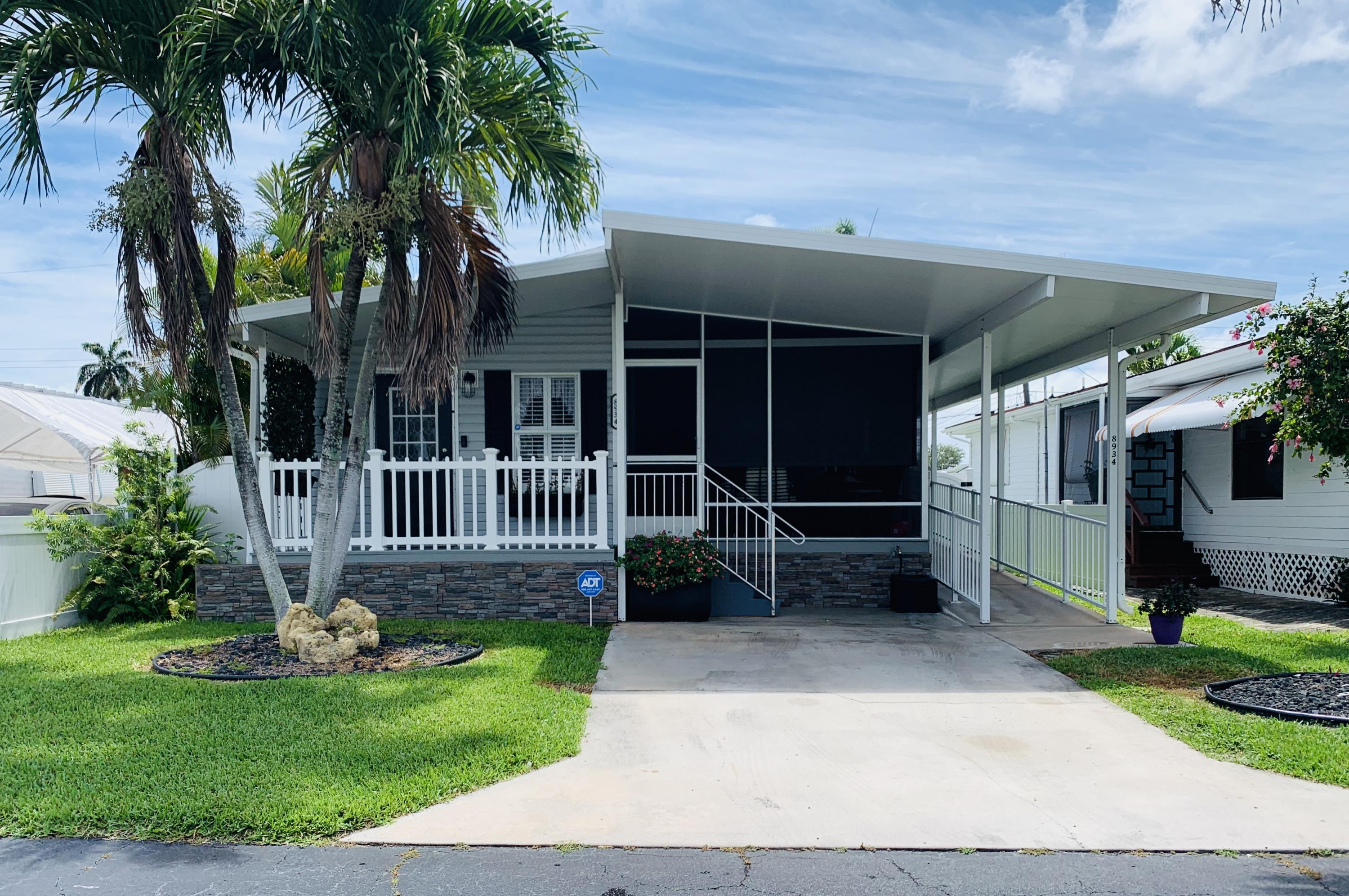 Manufactured/Mobile for sale in 8934 W Shady Lane, Boynton Beach, Florida ,33436