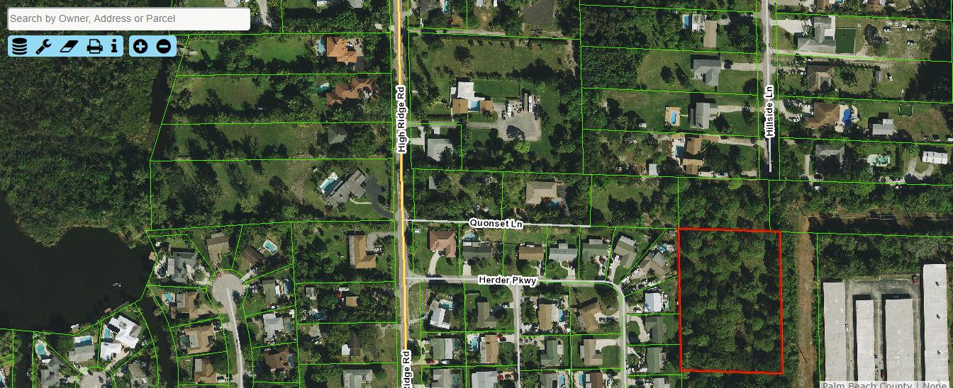 Land for sale in Hillside Lane, Lake Worth, Florida ,33462