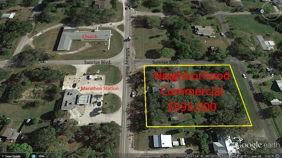industrial for sale in 1203 Midway Road, Fort Pierce, Florida ,34982