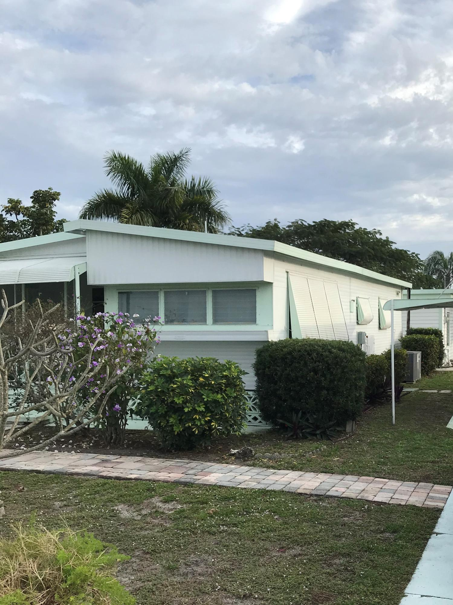 Manufactured/Mobile for sale in 4222 S Shady Lane, Boynton Beach, Florida ,33436