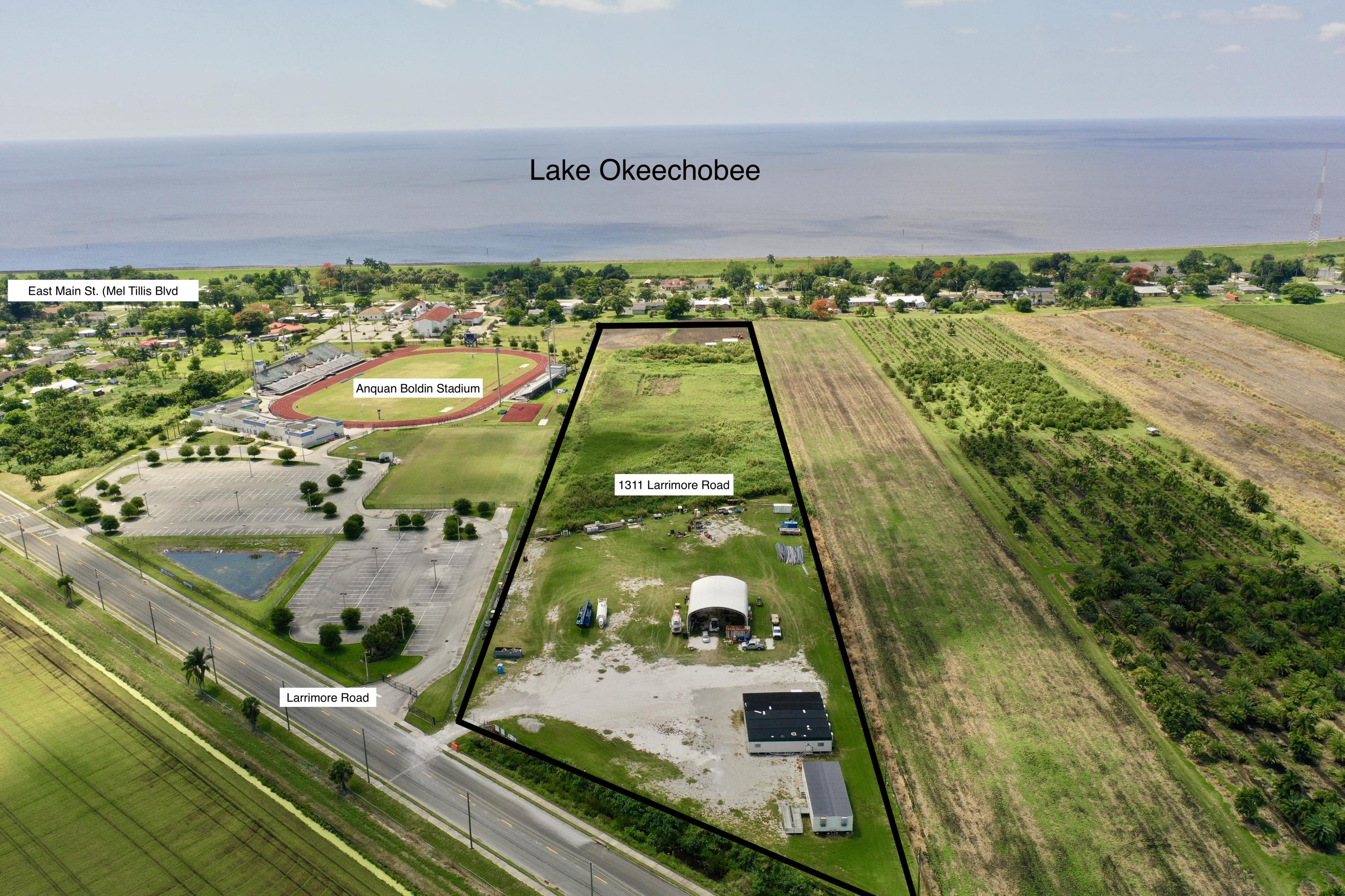 Land for sale in 1311 Larrimore Road, Pahokee, Florida ,33476