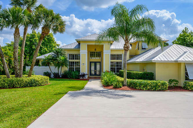Single Family Home for sale in 11700 SW Tangerine Court, Palm City, Florida ,34990