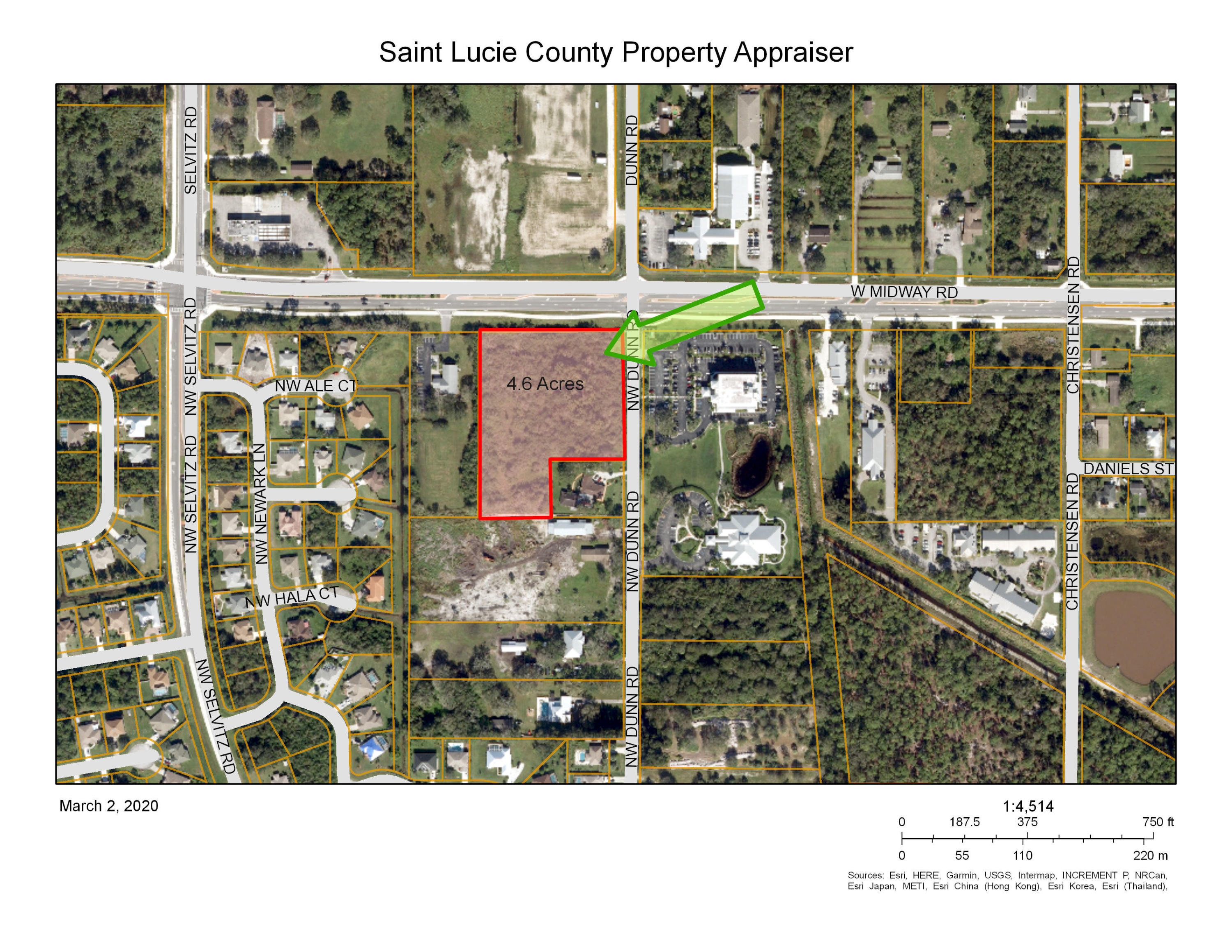 Land for sale in 3725 Midway Road, Fort Pierce, Florida ,34945