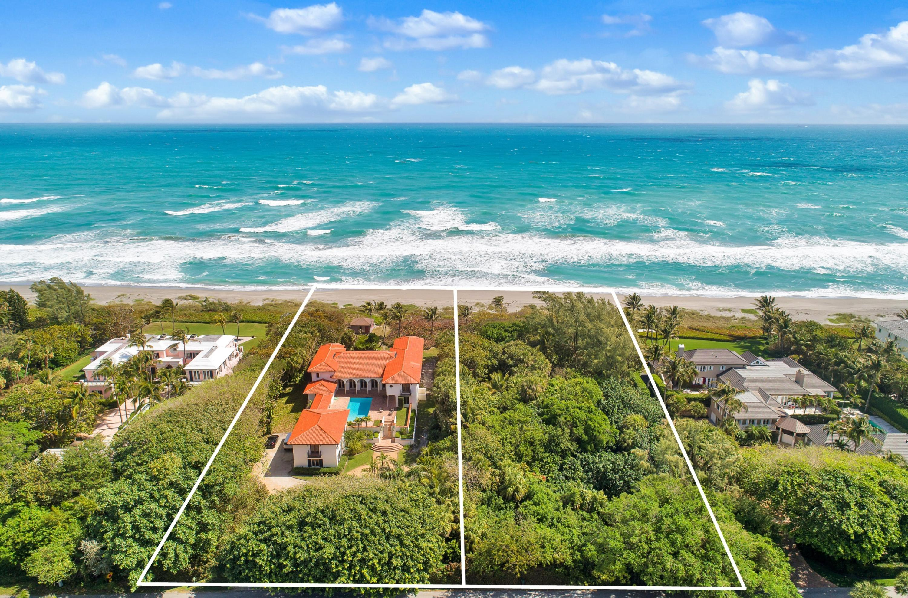 Single Family Home for sale in 119 S Beach Road, Hobe Sound, Florida ,33455