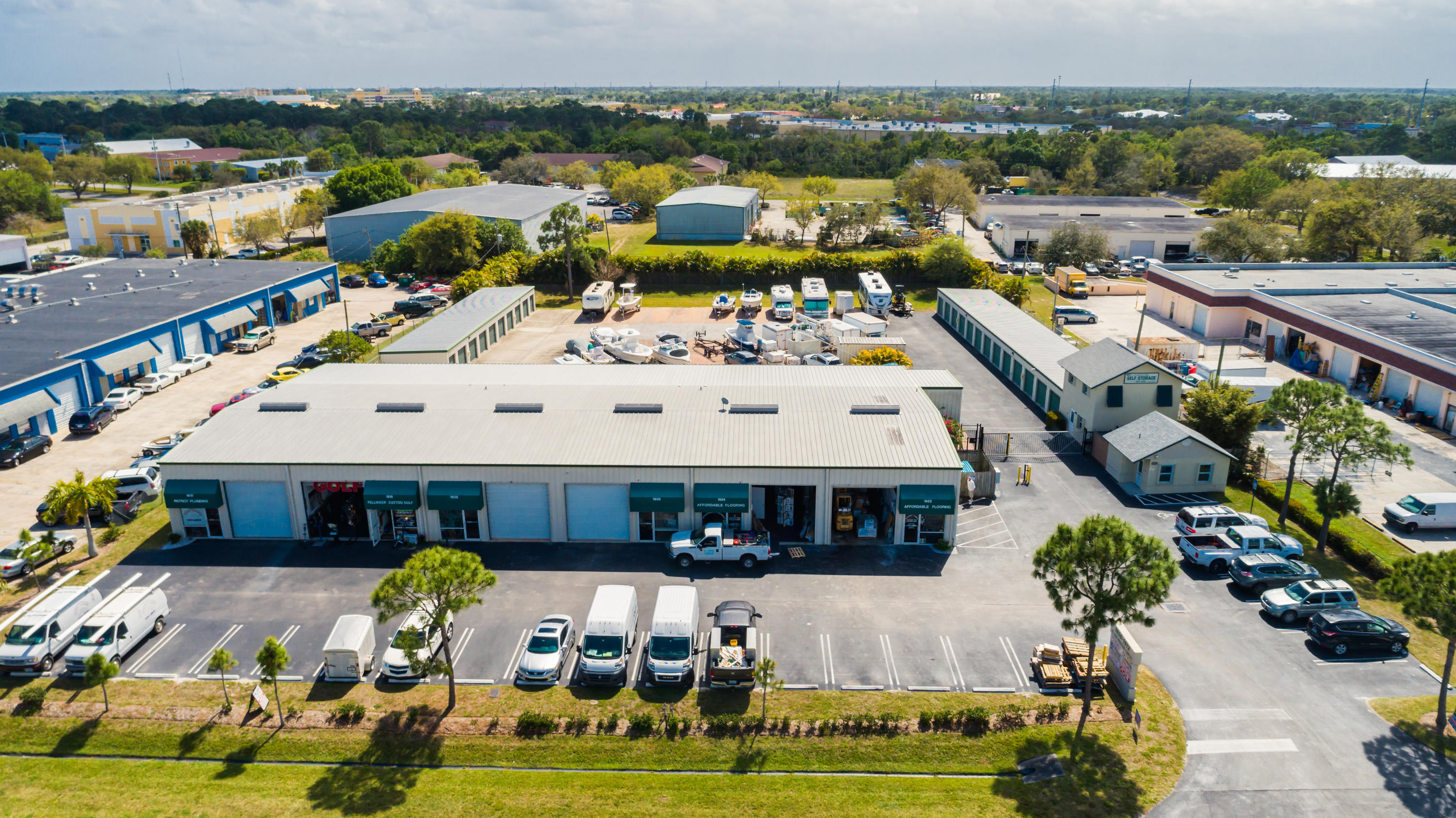 industrial for sale in 1602 SE Village Green Drive, Port Saint Lucie, Florida ,34952