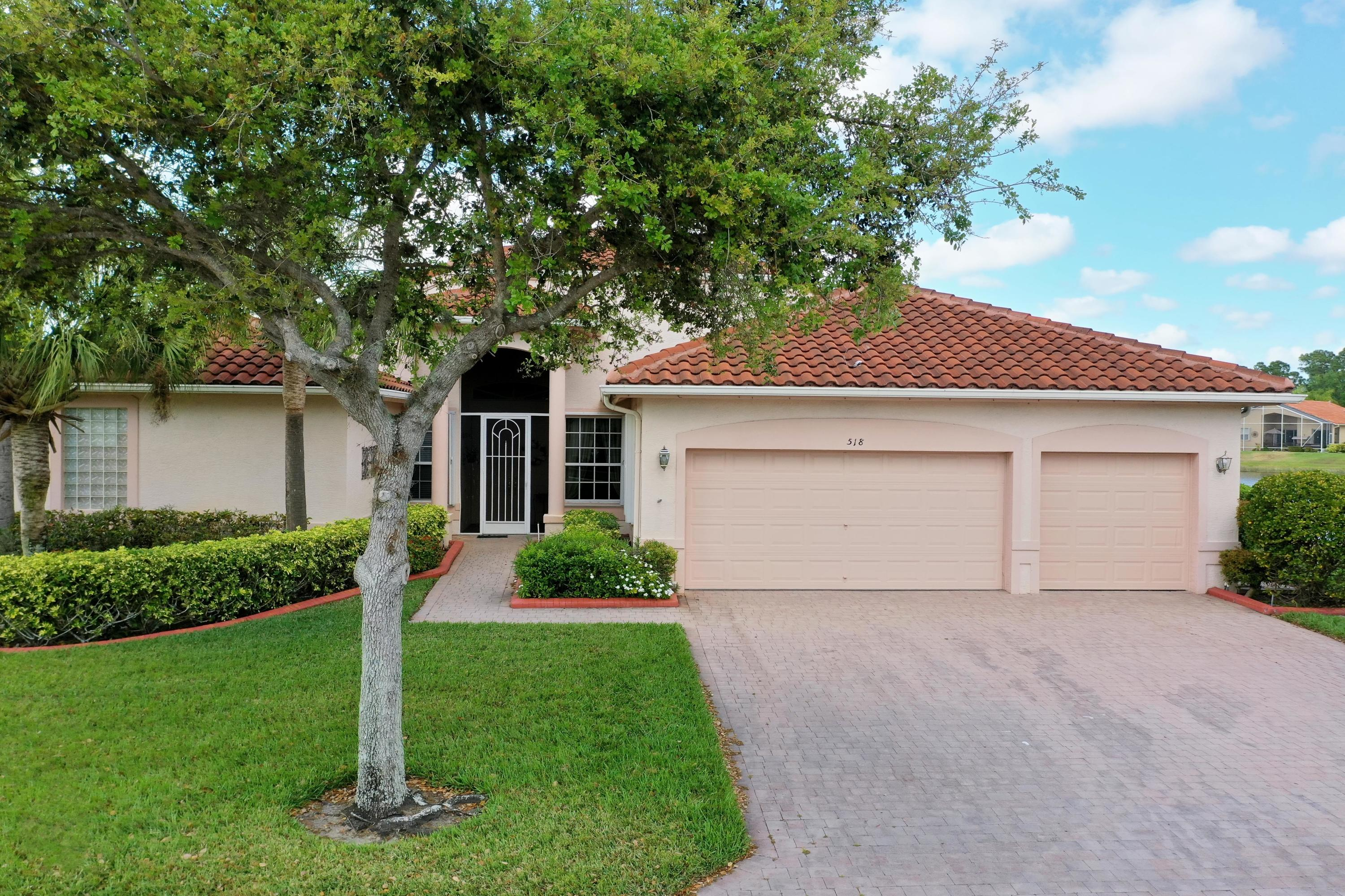 Single Family Home for sale in 518 NW Blue Lake Drive, Port Saint Lucie, Florida ,34986