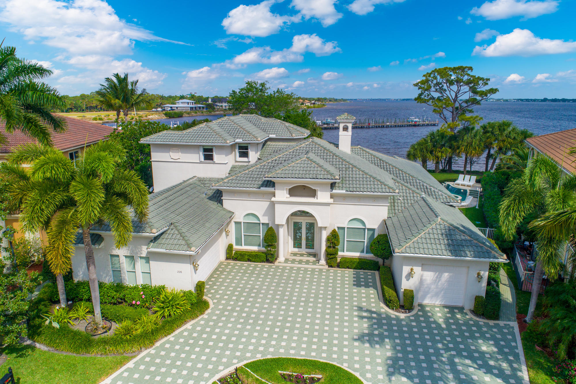 Single Family Home for sale in 226 SW Palm Cove Drive, Palm City, Florida ,34990