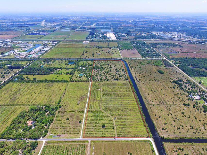 Land for sale in 8560 Immokolee Road, Fort Pierce, Florida ,34951