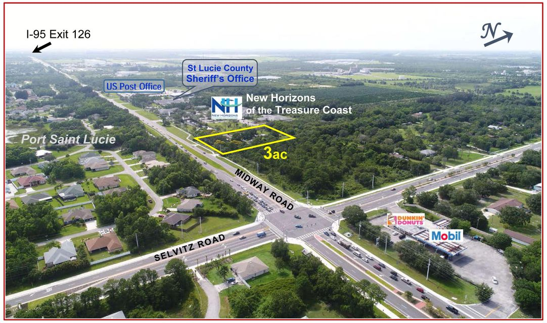 Land for sale in 4362 W Midway Road, Fort Pierce, Florida ,34981