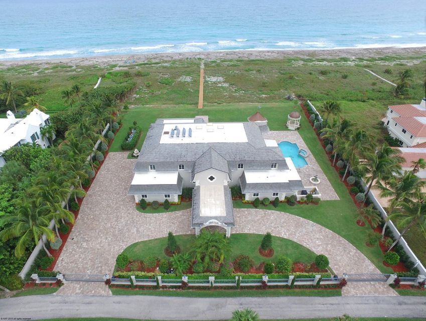 Single Family Home for sale in 477 S Beach Road, Hobe Sound, Florida ,33455
