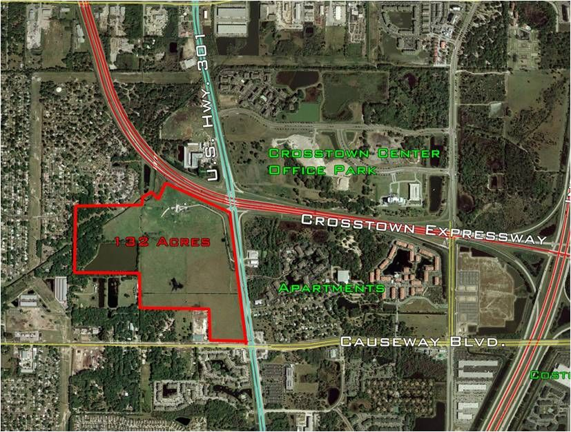 Commercial Land for sale in U.S. Highway 301 and Crosstown Expressway, Tampa, Florida