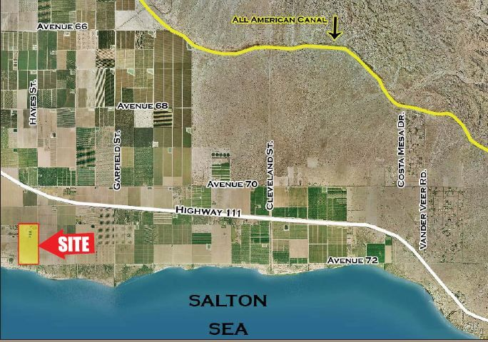 Commercial Land for sale in NEC 72nd & Hayes Street, Mecca, California