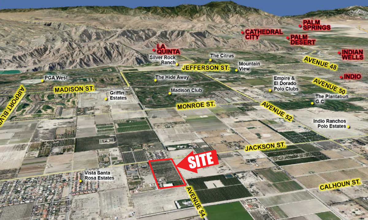 Commercial Land for sale in 83237 Avenue 54, Thermal, California