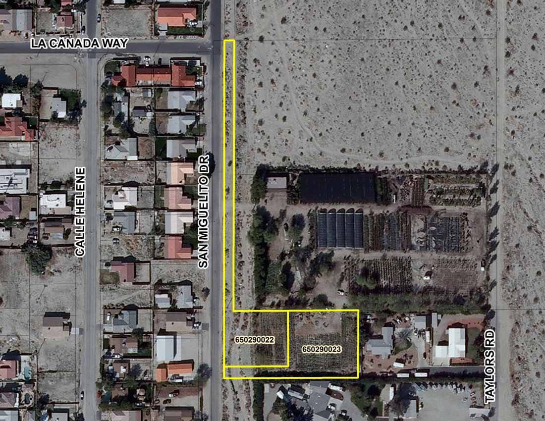 Commercial Land for sale in E San Miguelito Dr./N Ramon Rd., Thousand Palms, California