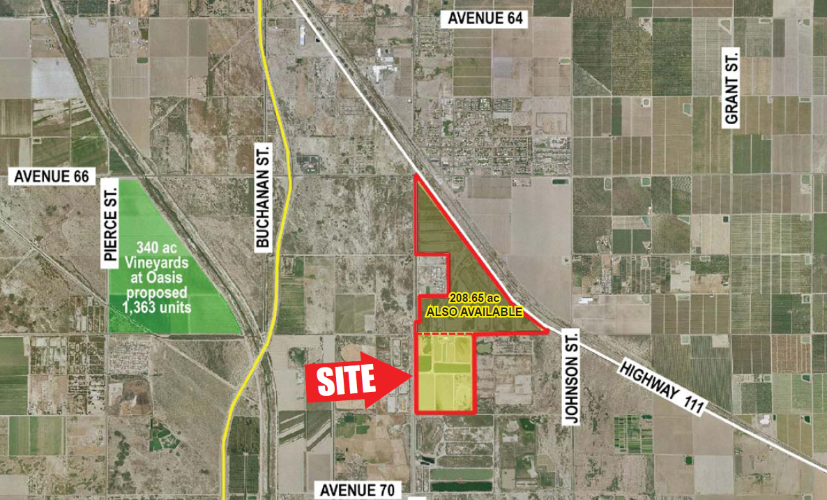 Commercial Land for sale in Highway 111 & Avenue 68, Mecca, California