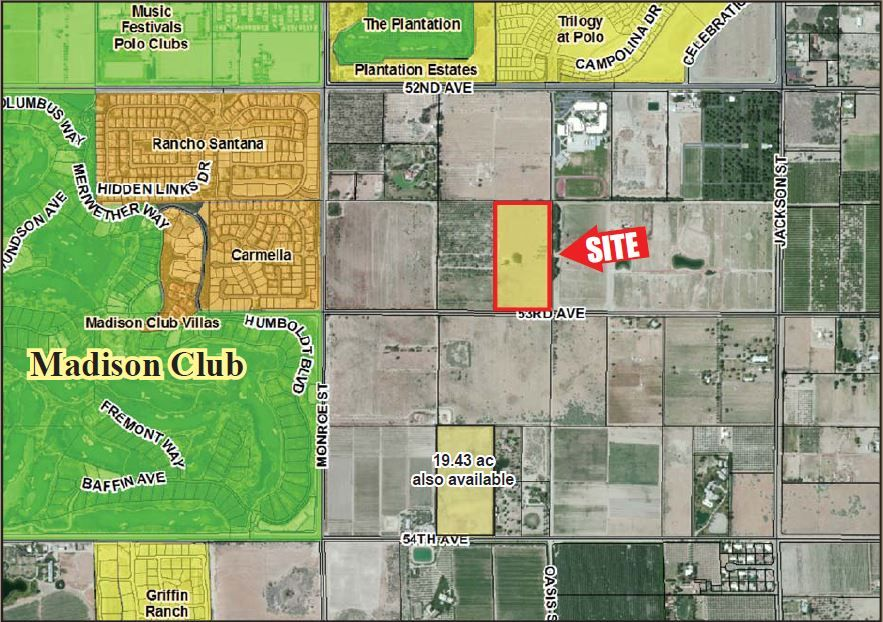 Commercial Land for sale in Ave 53 & Monroe, Thermal, California
