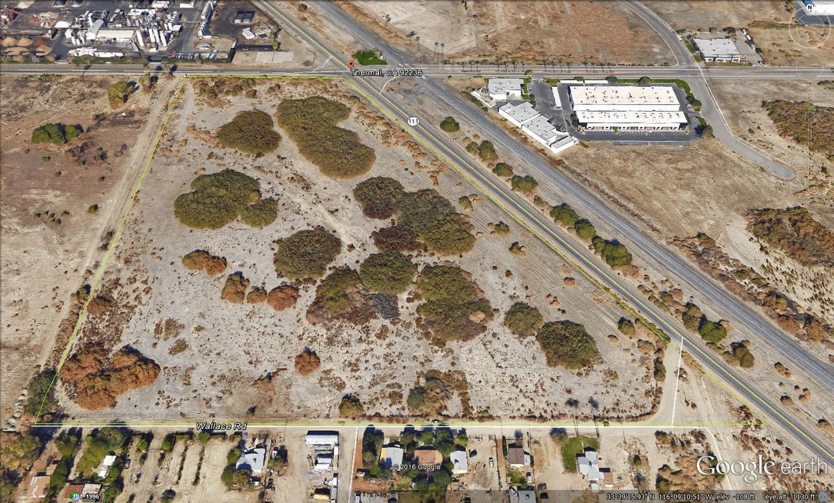 Commercial Land for sale in Hwy 111 and Avenue 54, Thermal, California