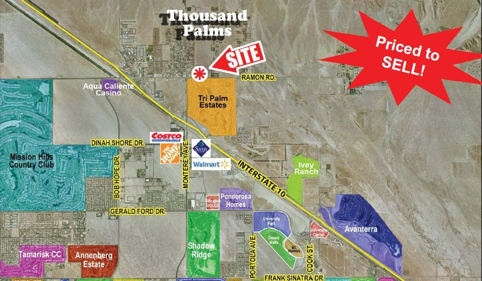 Commercial Land for sale in Ramon Rd/San Miguelito, Thousand Palms, California
