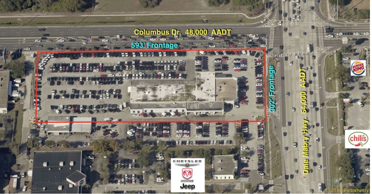 Commercial Land for sale in 2966 N. Dale Mabry Hwy, Tampa, Florida