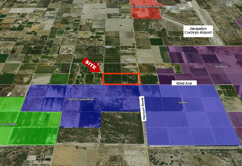 Commercial Land for sale in NWC Harrison & 62nd Avenue, Thermal, California