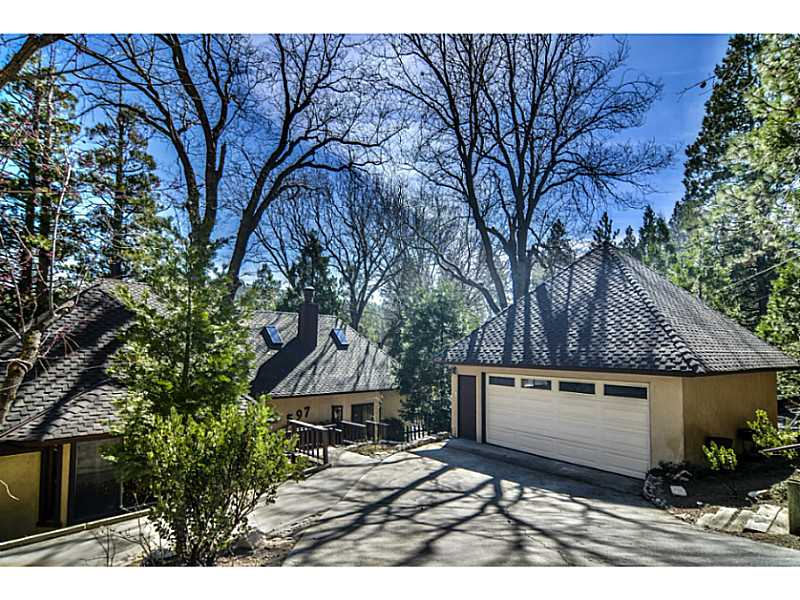 Single Family Home for sale in 597 BRENTWOOD DRIVE, Lake Arrowhead, California ,92352