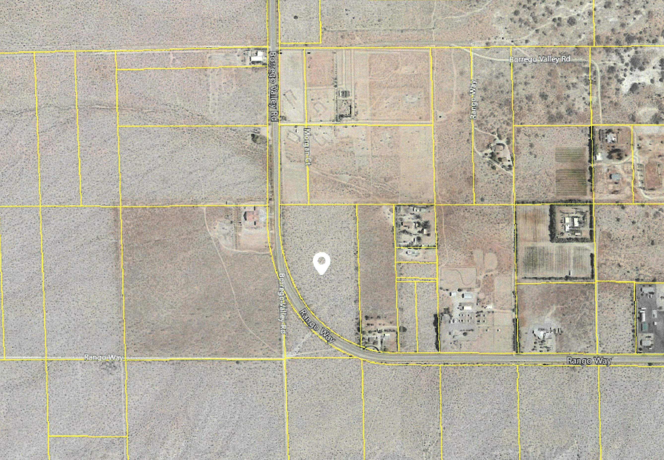 Land for sale in 18.48 acres Borrego Valley Road, Borrego Springs, California ,92004