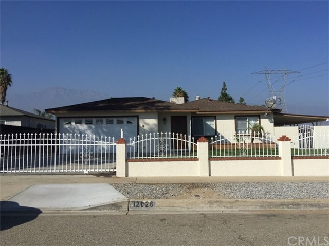 Single Family Home for sale in 12026 Stafford Street, Rancho Cucamonga, California ,91739