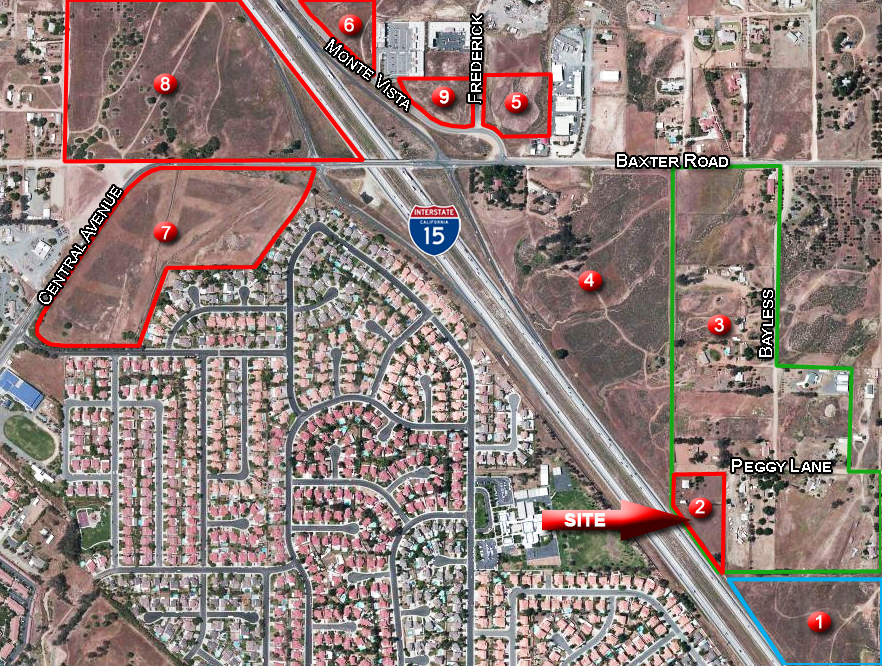 Land for sale in 23305 Peggy Ln, Wildomar, California ,92595