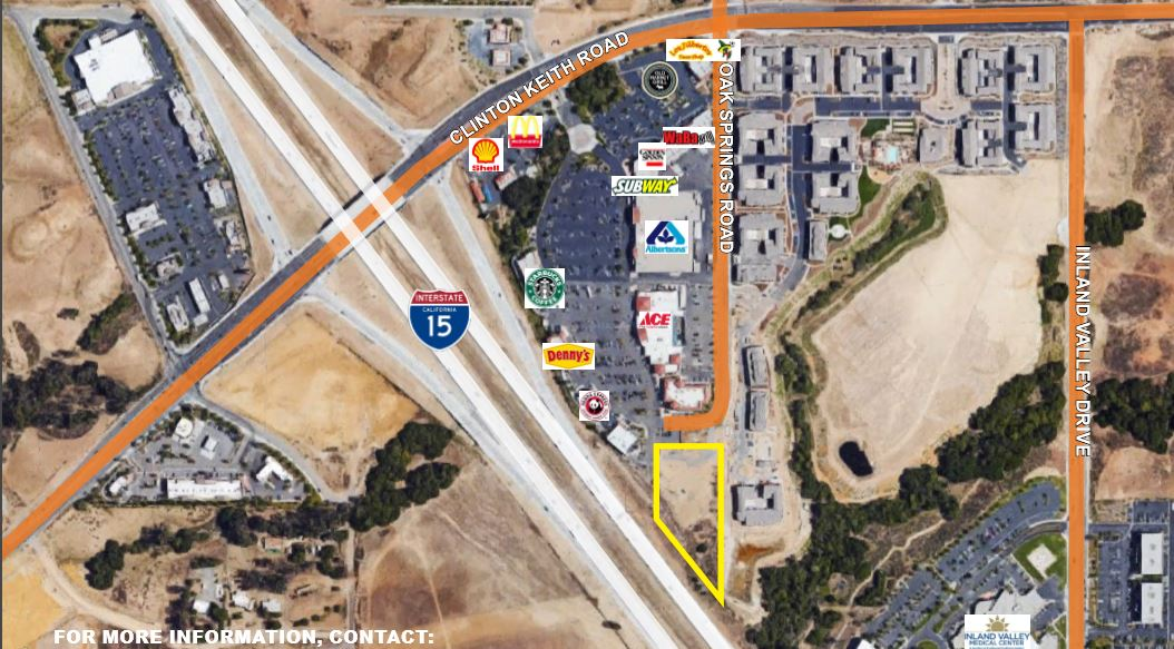 Land for sale in Oak Springs Road, Wildomar, California ,92595