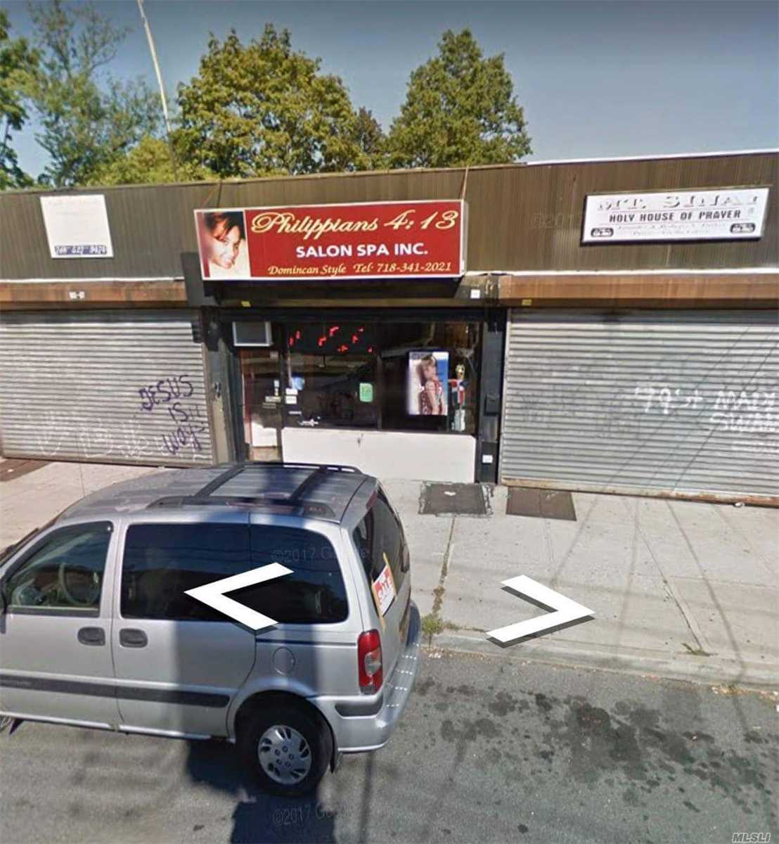 Commercial for sale in 140 Ave, Springfield Gdns, NY ,11413