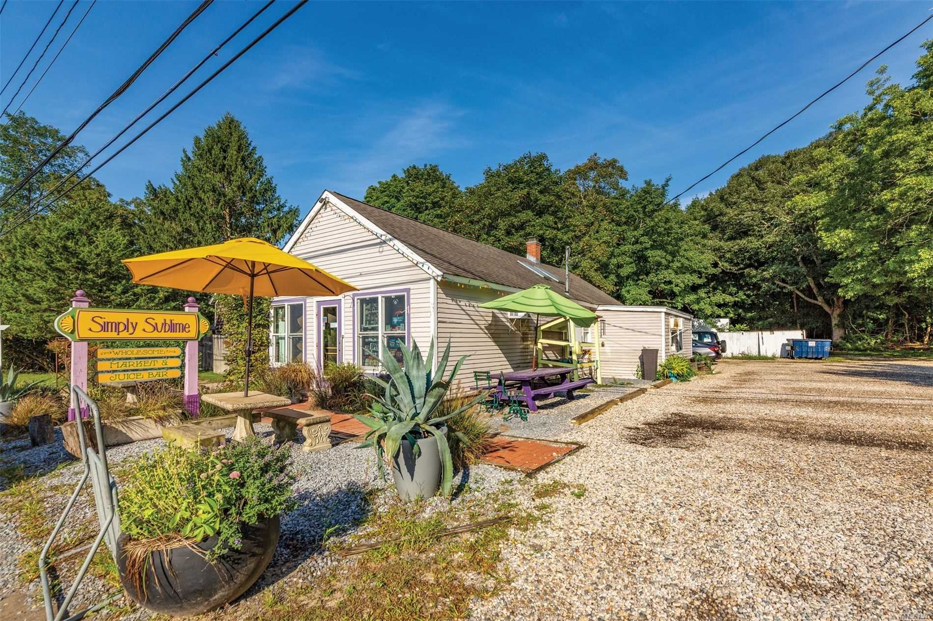 Commercial for sale in 83 Springs Fireplac Rd, East Hampton, NY ,11937