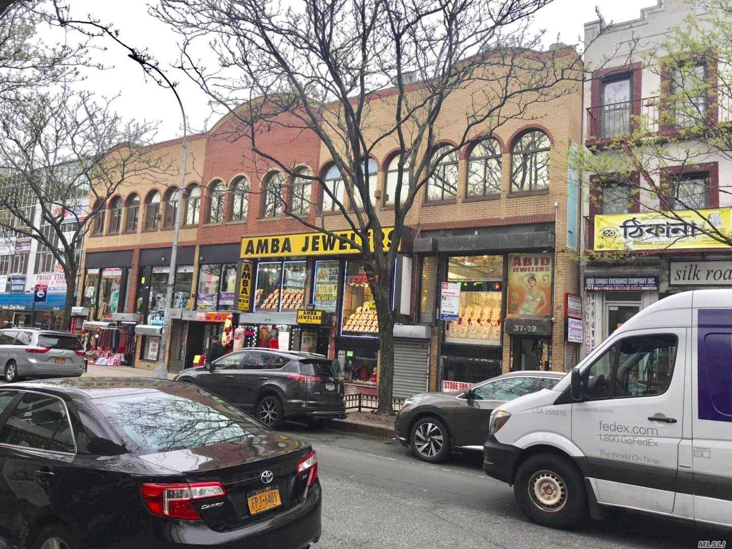 Commercial for sale in 37-13 74th St, Jackson Heights, NY ,11372