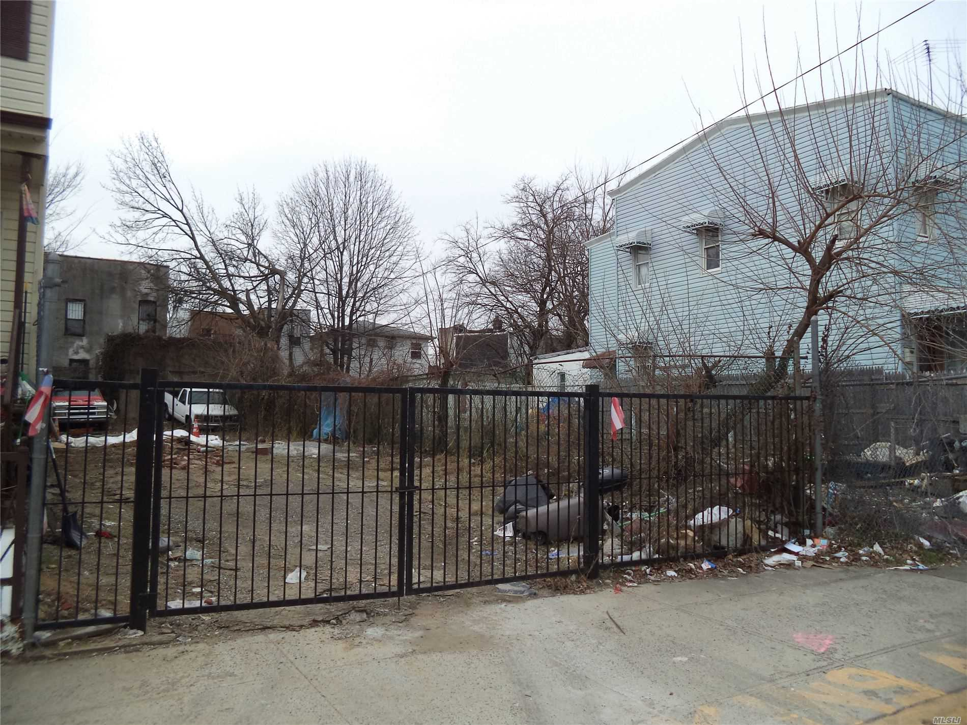 Land for sale in 78 & 82 Milford St, Brooklyn, NY ,11208